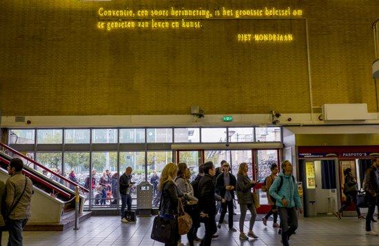 Eindhoven_Station_Piet Mondriaan
