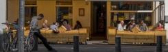 Uitnodigende sferen om gezellig te gaan zitten