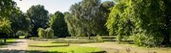 Kinderboerderij en een speeltuin in het groen